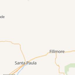 Carpinteria State Beach Campground Map on