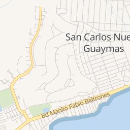 San Carlos Sonora Mexico Map.San Carlos Son Campground Reviews Best Of San Carlos Camping