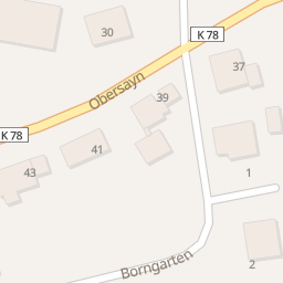Hotels Obersayn Rothenbach Stadtplan
